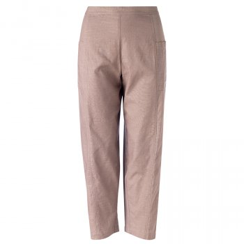 Nomads Cotton Relaxed Crop Trousers