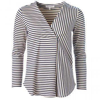 Thought Dark Navy Striped Ronan Top