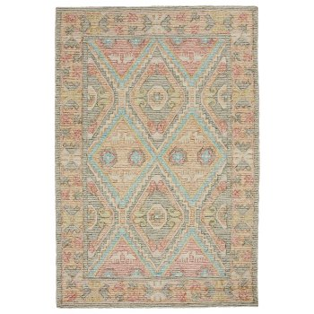 Nahari Hand Tufted Indian Wool Rug - 150 x 225cm