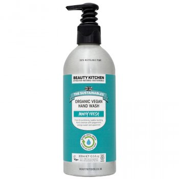 Beauty Kitchen The Sustainables Minty Fresh Organic Vegan Hand Wash - 300ml