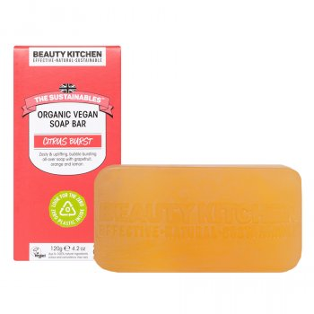 Beauty Kitchen The Sustainables Citrus Burst Organic Vegan Bar Soap - 120g