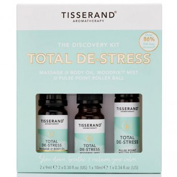 Tisserand Total De-Stress Discovery Kit