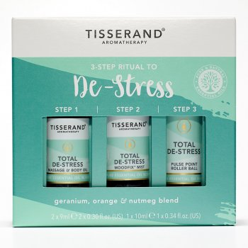 Tisserand 3-Step Ritual to De-Stress