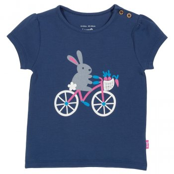 Kite Bunny & Bike T-Shirt