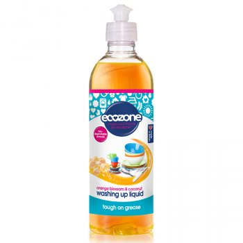 Ecozone Washing Up Liquid - Orange Blossom & Coconut - 500ml