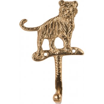 Ian Snow Gold Finished Aluminium Tiger Hook
