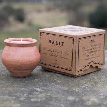 Dalit Handmade Deepti Beeswax Candle - Lavender
