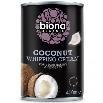 Biona Coconut Whipping Cream - 400ml