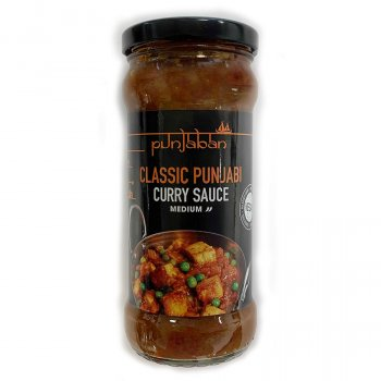 Punjaban Vegan Classic Punjabi Curry Sauce - Medium - 350g