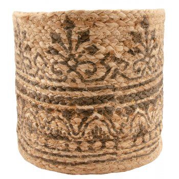 Jute Block Printed Planter