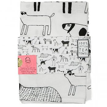 ARTHOUSE Unlimited Dogs Tea Towel