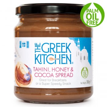 The Greek Kitchen Tahini, Honey & Cocoa Spread - 300g