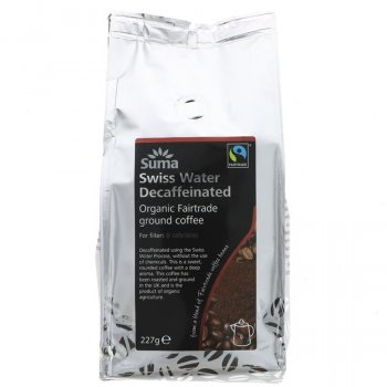 Suma Decaffeinated Ground Coffee -  227g