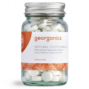 Georganics Toothpaste Tablets - Orange - 120 Tabs