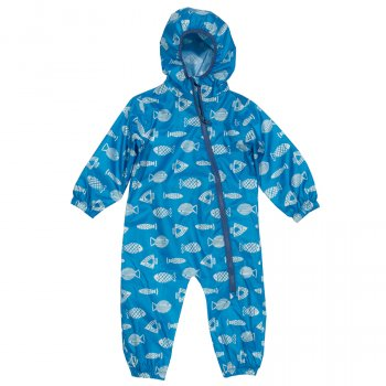 Kite Blue Fish  Puddlepack Suit