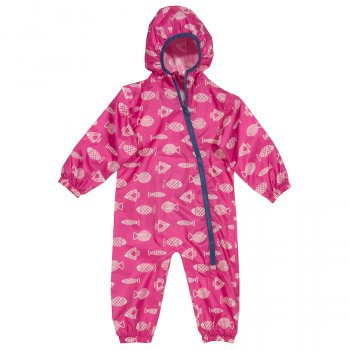 Kite Pink Fish Puddlepack Suit