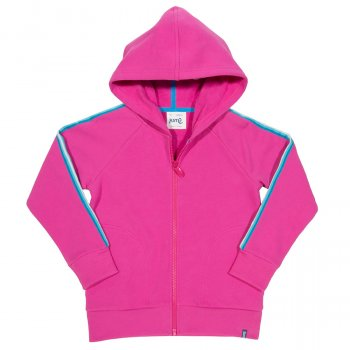 Kite Pink Side Stripe Hoody