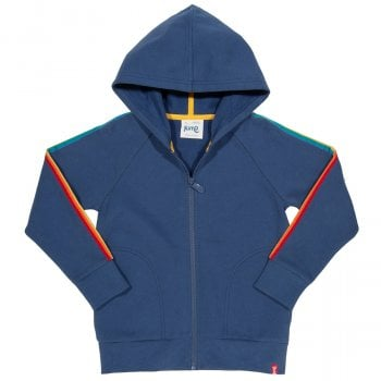 Kite Navy Side Stripe Hoody
