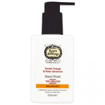 Roots & Wings Orange & Rose Geranium Hand Wash - 250ml