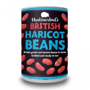Hodmedods British Haricot Beans in Water - 400g