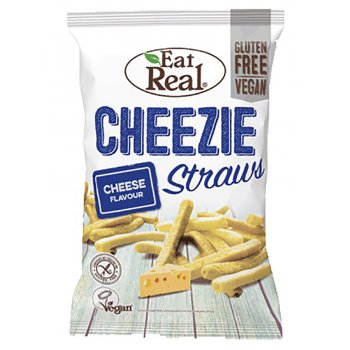 Eat Real Potato Cheez Straws - 113g