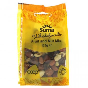 Suma Fruit and Nut Mix - 125g