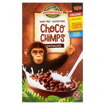 Natures Path Organic Choco Chimps Cereal - 284g