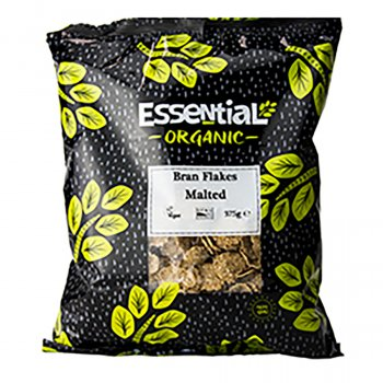 Essential Trading Organic Malted Bran Flakes - 375g