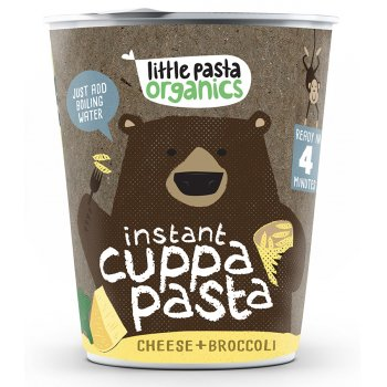 Little Pasta Organics Cheese & Broccoli Instant Pasta Pot - 45g