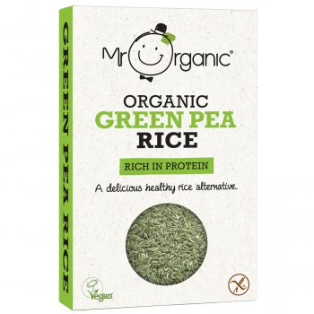 Mr Organic Green Pea Rice - 250g