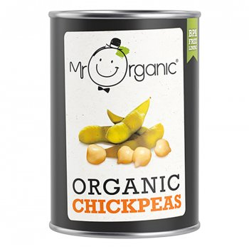 Mr Organic Chickpeas - 400g