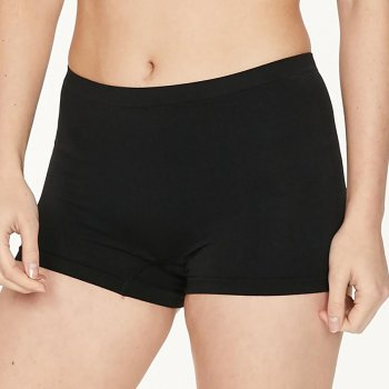 Thought Reneta Recycled Seamless Short Briefs - Black