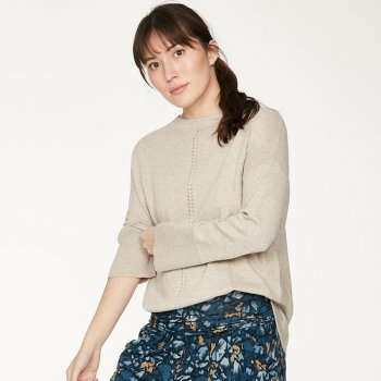 Thought Birch Grey Perils Jumper
