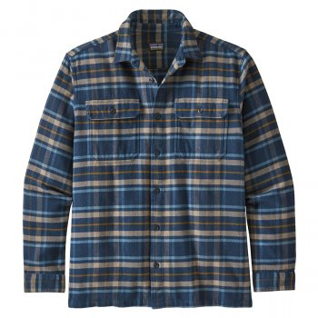 Patagonia Fjord Flannel Shirt - Independence Navy