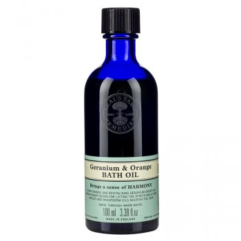 Neals Yard Remedies Geranium & Orange Bath Oil - 100ml
