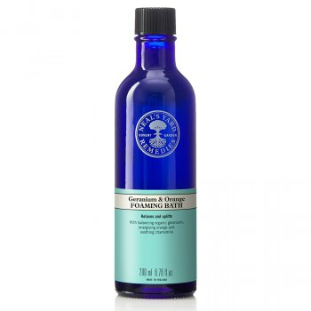 Neals Yard Remedies Geranium & Orange Foam Bath - 200ml