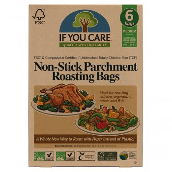 If You Care Compostable Unbleached Roasting Bags - Medium - 6 Bags