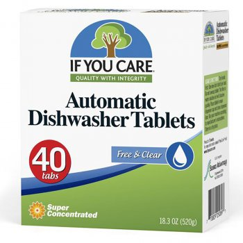 If You Care Dishwasher Tablets - 40 Tabs