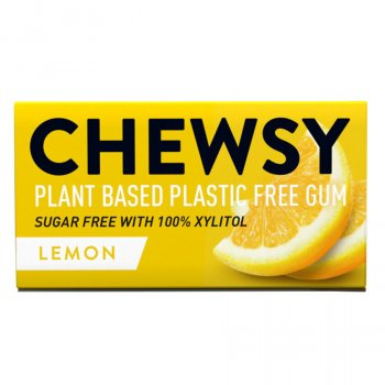 Chewsy Lemon Chewing Gum - 15g
