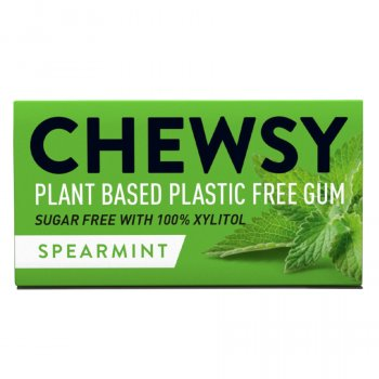 Chewsy Spearmint Chewing Gum - 15g
