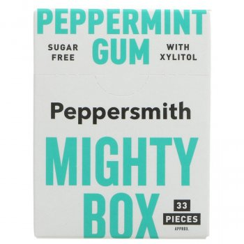Peppersmith Peppermint Chewing Gum - Big Pack - 50g