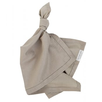 The Flax Sack Organic Linen Napkins - Raw Beige - Set of 2