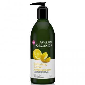 Avalon Organics Lemon Glycerin Hand Soap - 355ml