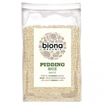 Biona Organic Pudding Rice - 500g