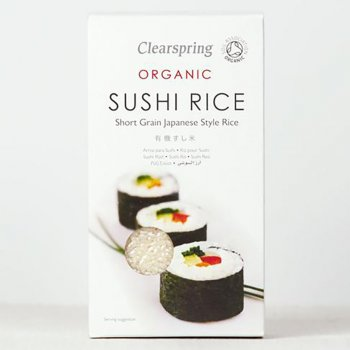Clearspring Sushi Rice White - 500g