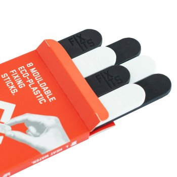 FixIts Reusable Fixing Sticks - Black & White - Pack of 8