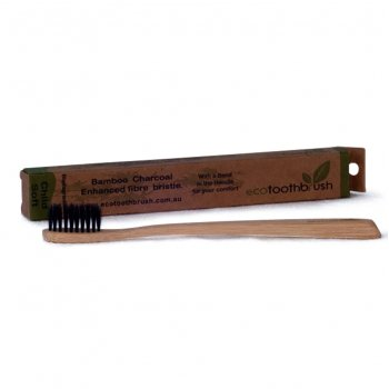 Ecotoothbrush Bamboo Charcoal Toothbrush - Child