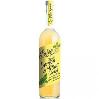 Belvoir Organic Lemon & Mint Cordial - 500ml