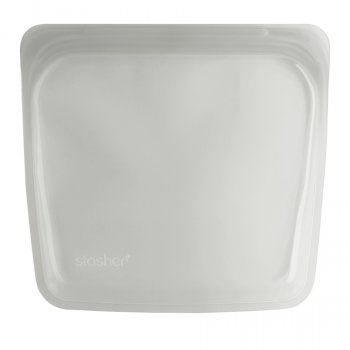 Stasher Silicone Reusable Sandwich Bag - Clear