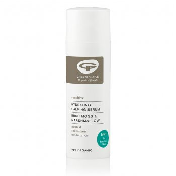Green People Scent Free Hydrating Calming Serum - 50ml